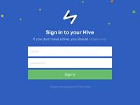 Hive Login
