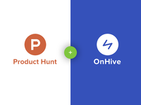OnHive is on Producthunt