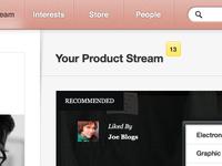 Product Stream
