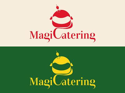 MagiCatering branding typography logo