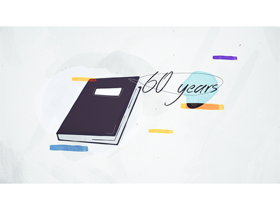 Penal Reform - Mandela Rules / 2 colours light drawn hand motion animation illustration cl book