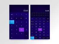 Calculator UI ui  ux calculator ui design dailyui 004 dailyui ui