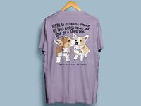Corgi Puppy Tshirt Design