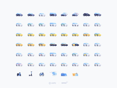 New cars illustrations mobility van train taxi illustration helicopter design delivery cars car illustration cabifydesign cabify bicycle