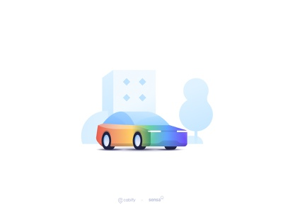 Live the pride mobility car ui car illustration illustration design cabifydesign cabify pride