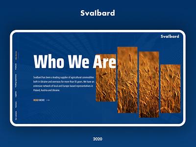 Stalbard - Web Design illustration website webdesig adobe photoshop