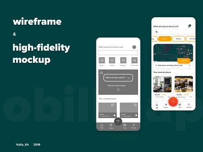 Mobile App - UI&UX mobile app design mobile ui mobile app uiux ux ui adobe photoshop