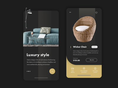 UI&UX - Mobile App - Interior mobile ui  ux mobile ui ui ux mobile app design mobile app website webdesig adobe photoshop