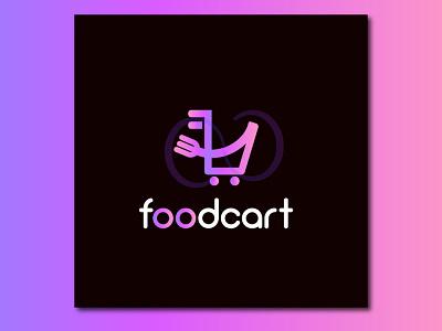Foodcart Logo logo logos logotype design icon brand designer logo designer food app foodie food