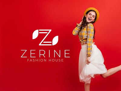 Fashion Logo - ZERINE FASHION HOUSE icon logodesign logotype logos brand designer logo designer logo style logo fashion logo fashion