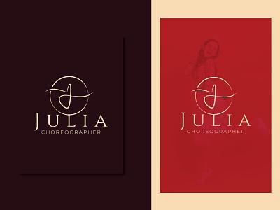 LOGO FOR CHOREOGRAPHER design logodesign logotype logos brand designer logo designer branding logo choreography logo personal logo
