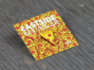 Pizza Party! lapel pin enamel pin pin game illustrator pin pizza