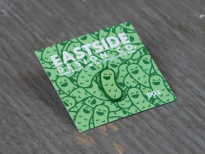 Pickle Party! lapel pin enamel pin pin game illustrator pin pickle