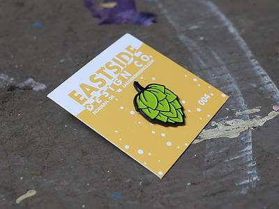 Hop Pin beer enamel pin pin hops hop