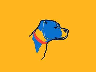 Thunder Rosie thunder okc pitbull illustration illustrator