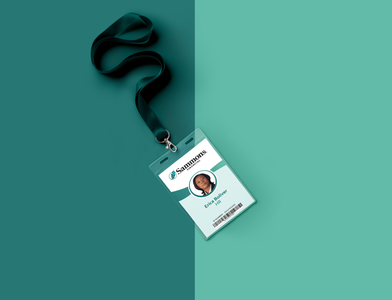 ID Card branding print identity design design