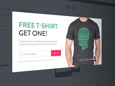Free T-shirt Modal