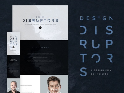 DESIGN DISRUPTORS, a new documentary about design product design design disruptors design