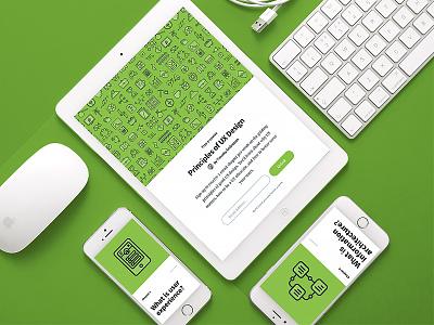 New e-course—Principles of UX Design e-course email responsive invision ui design ux
