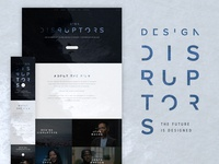 DESIGN DISRUPTORS coming to a city near you!