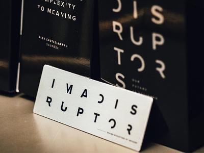 Design Disruptors Swag invision branding design swag designdisrutors