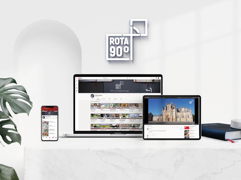 Rota 90 Graus golden ratio logo brand brand design graphic design