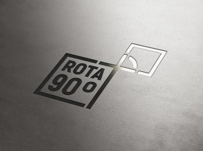 Rota 90 Graus logo brand golden ratio brand design graphic design