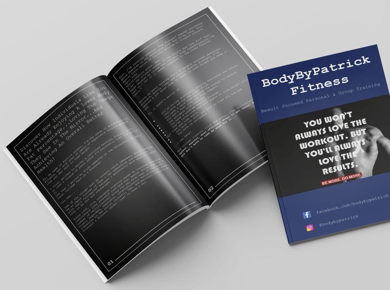 Leaflet/prospectus design template beauty service proffessional