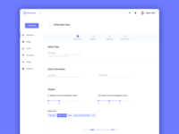 Web application based on MATERIAL-UI