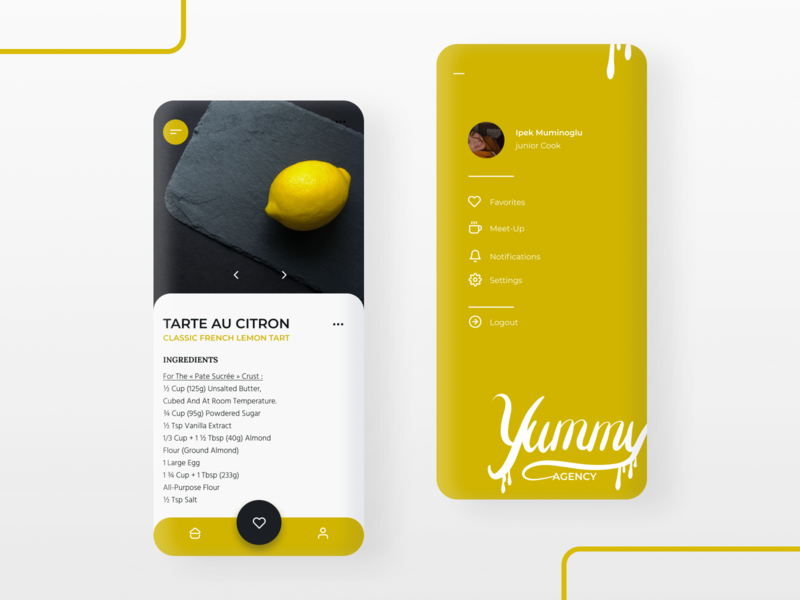 Cooking App UI cooking food appdesign uiuxdesign uiux minimal flat web app icon typography ux ui design illustration
