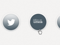 Social Icons Buttons