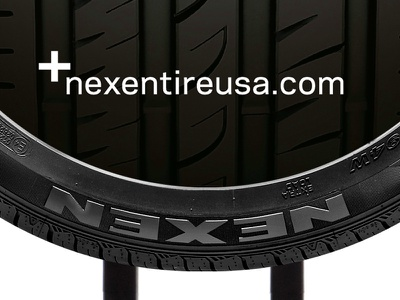Nexen Performance Tire Tower pos point-of-purchase display tires automotive