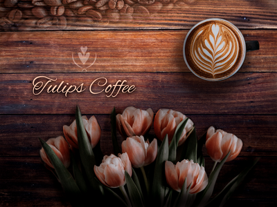 Tullips Coffee - Branding image photoshop ui branding logo wacom intuos design graphic design