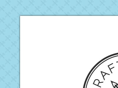 Work in progress website pattern blue