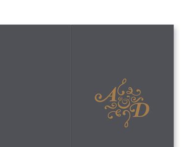 Wedding Stationery Monogram swash wedding stationery monogram hoefler text