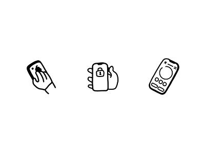 illustration icons focus illustration