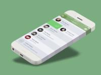 Listener friends interface fullview