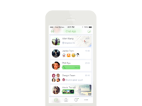 Chatlist realpixel