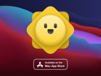 Moment for macOS countdowntimer sun mac app store mac app icon mac app macos countdown moment