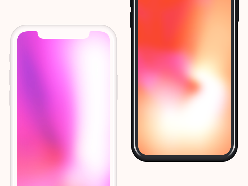 Minimalist iPhone X mockup.sketch