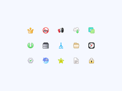 Whale App Iconography automation cache crown privacy review us whale clock folder clean download sound no ads