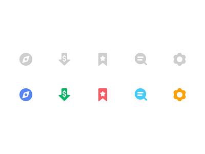 PriceTag Tabbar Icon Refresh tabbar settings search favorite fav mark price drop explore icon ios11 pricetag