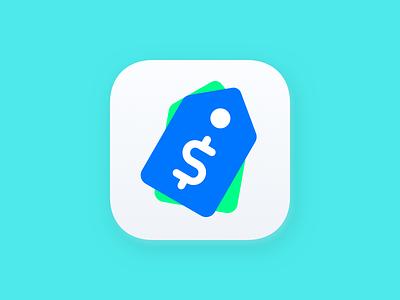 PriceTag App Icon Refresh tag icon app icon redesign pricetag
