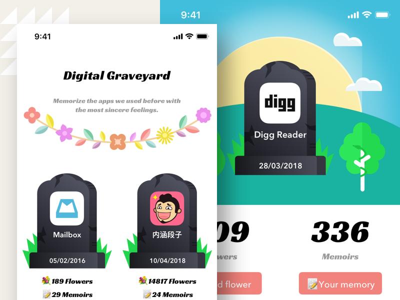 Digital graveyard 2x