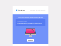 Email template fullview