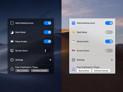 One Switch - Dark & Light light dark app menubar macapp oneswitch