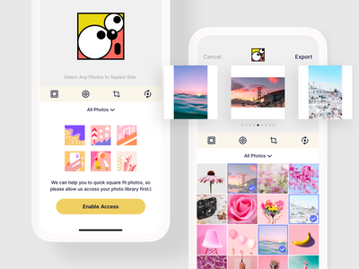 SquareDude is Now Available on App Store. instagram photo editor photo app square fit square size
