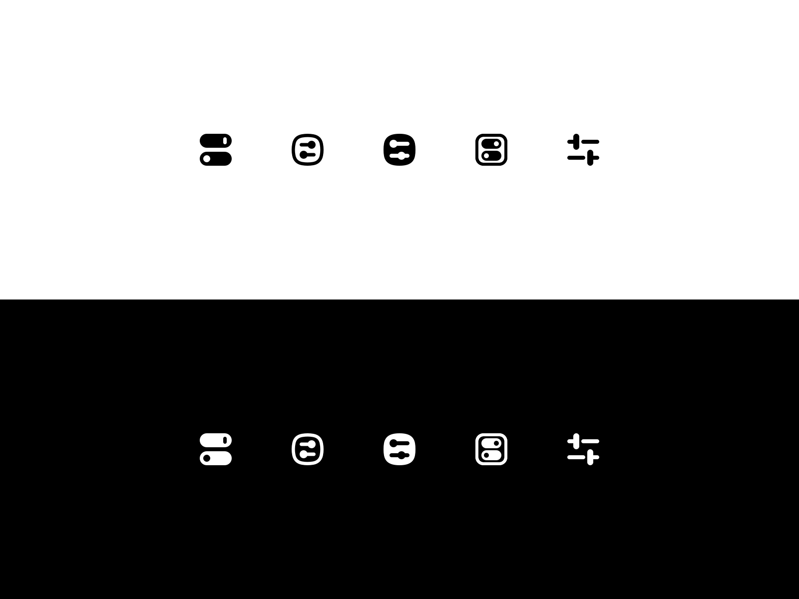 Menubar icons 4x