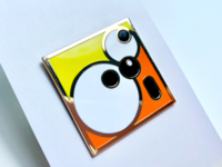 SquareDude Enamel Pin