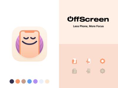 OffScreen App Design